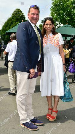 Sir Matthew Pinsent and Lady Pinsent