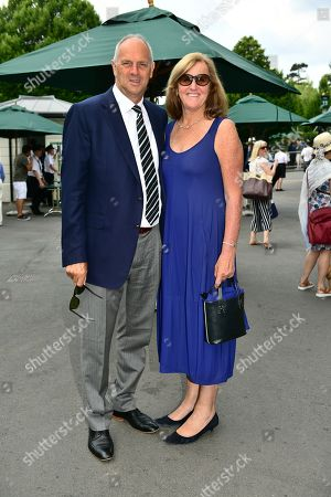 Editorial picture of Wimbledon Tennis Championships, Day 8, The All England Lawn Tennis and Croquet Club, London, UK - 09 Jul 2018
