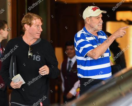 Eric Eisner and Michael Eisner