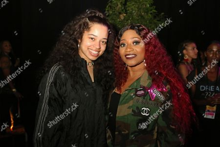 Stock Picture of Ella Mai & Leanne Lyons