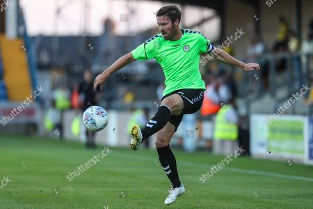 Forest Green Rovers Scott Laird(3) controls the ball during the Pre-Season Friendly match between Torquay United and Forest Green Rovers at Plainmoor, Torquay. Picture by Shane Healey
