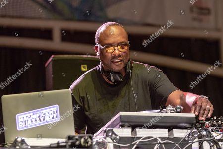 Stock Photo of DJ Jazzy Jeff - Jeffrey Allen Townes