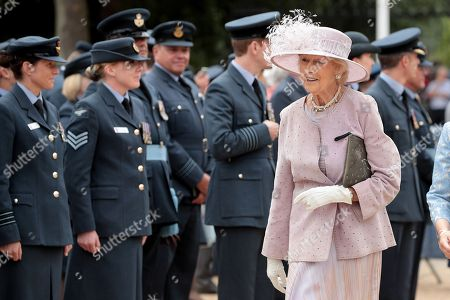 Princess Alexandra of Kent attends the RAF 100 ceremony on Horse Guards Parade