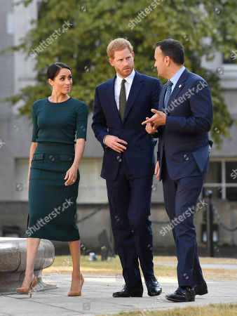 Prince Harry and Meghan Duchess of Sussex visit to Dublin, Day 1