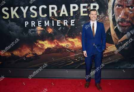 "Rawson Marshall Thurber attends the ""Skyscraper"" premiere at AMC Loews Lincoln Square, in New York"