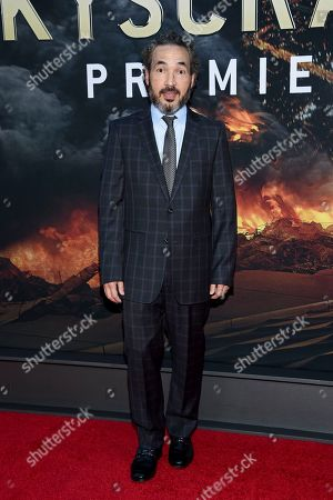 "Stock Photo of Steve Jablonsky attends the ""Skyscraper"" premiere at AMC Loews Lincoln Square, in New York"
