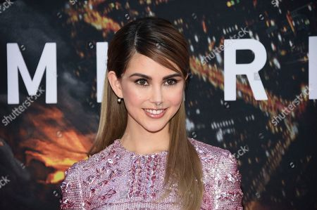"Hannah Quinlivan attends the ""Skyscraper"" premiere at AMC Loews Lincoln Square, in New York"