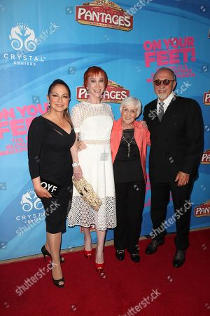 Editorial image of 'On Your Feet!' musical opening night, Arrivals, Pantages Theatre, Los Angeles, USA - 10 Jul 2018