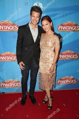 Editorial photo of 'On Your Feet!' musical opening night, Arrivals, Pantages Theatre, Los Angeles, USA - 10 Jul 2018