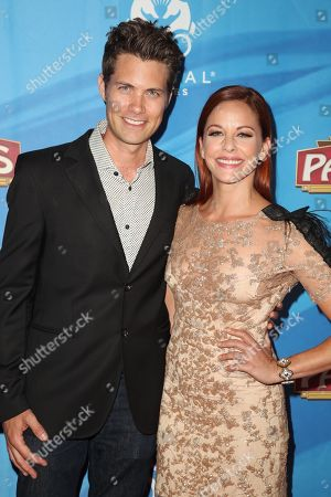 Stock Image of Amy Paffrath and Drew Seeley