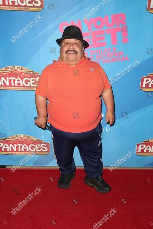 Editorial picture of 'On Your Feet!' musical opening night, Arrivals, Pantages Theatre, Los Angeles, USA - 10 Jul 2018