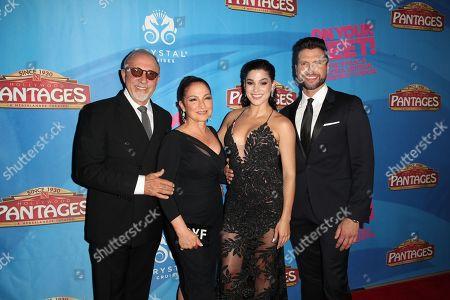 Emilio Estefan, Gloria Estefan, Christie Prades and Mauricio Martinez