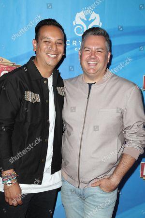 Stock Picture of Salvador Camarena and Ross Mathews
