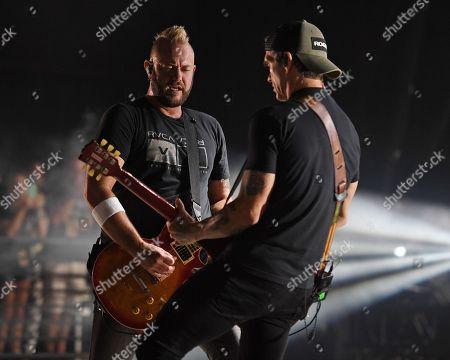 Editorial photo of 3 Doors Down in concert at Mizner Park Amphitheatre, Boca Raton, USA - 10 Jul 2018