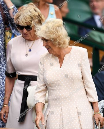 Editorial photo of Wimbledon Tennis Championships, Day 9, The All England Lawn Tennis and Croquet Club, London, UK - 11 Jul 2018