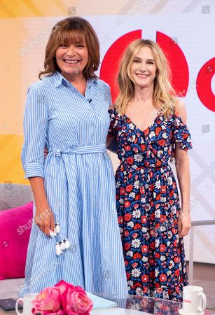 Lorraine Kelly and Holly Hunter