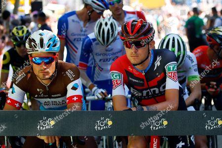 Tejay van Garderen and Silvan Dillier