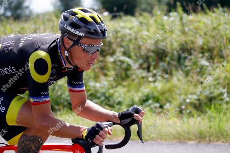 Stock Picture of Direct Energie team rider Sylvain Chavanel of France in action during the 5th stage of the 105th edition of the Tour de France cycling race over 204,5km between Lorient and Quimper, France, 11 July 2018.