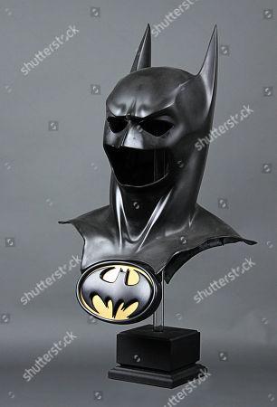 Val Kilmer Batman Cowl and Chest Emblem