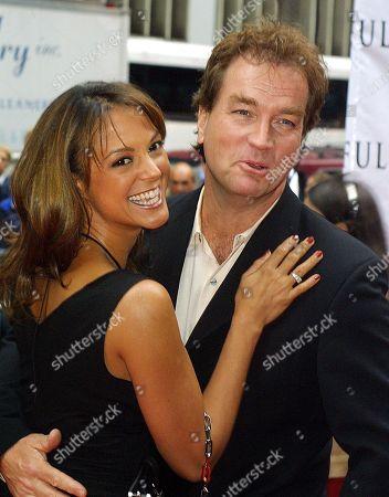 New York City 2002 Eva La Rue and Husband John Callahan