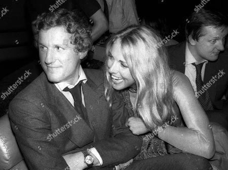 1977 New York City Mick Flick Alana Hamilton at Studio 54 Usa New York City