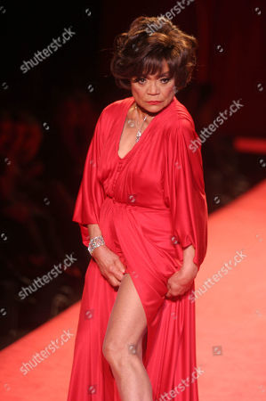 ''the Heart Truth'' Red Dress Collection Fashion Show at Bryant Park N Y Date 02-03-06 Eartha Kitt