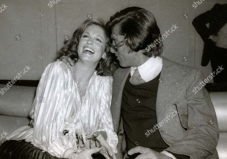 1978 New York Ny Phyllis George and Robert Evans at Studio 54 Usa New York City