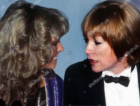 New York City 1978 Farrah Fawcett and Shirley Maclaine at Studio 54 Usa New York City