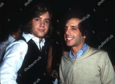 New York Ny 1978 Shaun Cassidy and Steve Rubell at Studio 54 Usa New York City