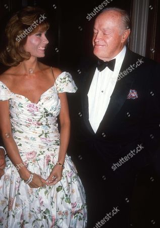 Kathy Lee Gifford Bob Hope 1983