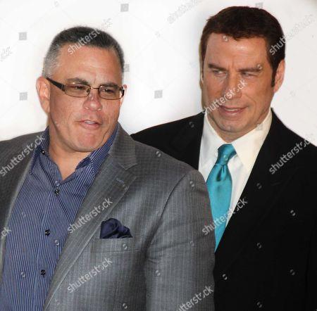 New York City 2011 John Gotti Jr John Travolta