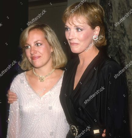 Julie Andrews & Daughter Emma Walton Hamilton 1982