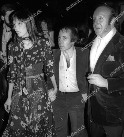 Stock Image of 1978 New York City Shelley Duvall Paul Simon Clive Davis at Studio 54 Usa New York City