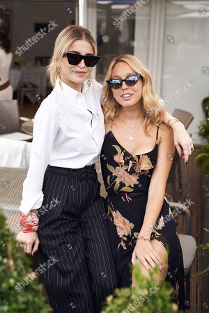 Caroline Daur with Princess Maria-Olympia of Greece