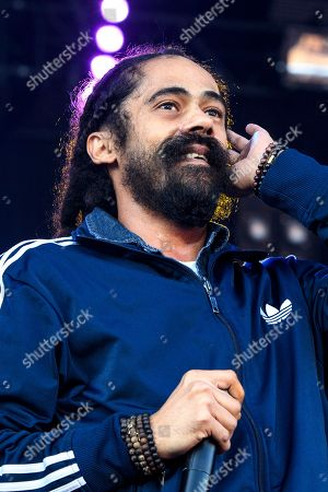 Jamaican reggae singer Damian 'Jr Gong' Marley performs on the Main Stage, during the 35th Gurten music festival in Bern, Switzerland, 11 July 2018. The open air music festival runs from 11 to 14 July.