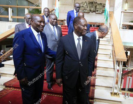 Alassane Ouattara and Daniel Kablan Duncan