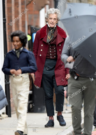 Peter Capaldi stars as Mr Micawber.