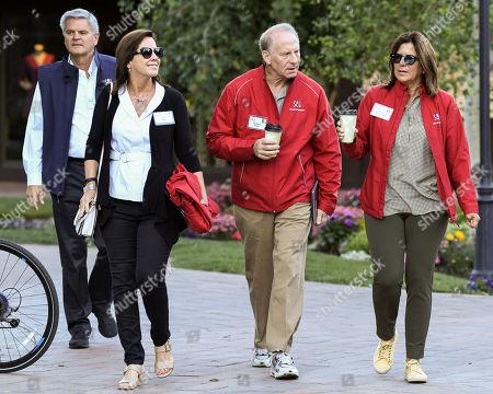 Steve Case, Jean Case, Richard Haass and Susan Mercandetti