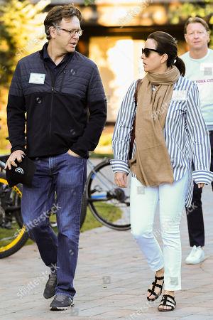 Nick Griffin and Adriana Cisneros