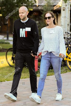 Daniel Ek and Sofia Ek