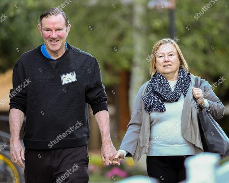 Don Graham and Amanda Bennett