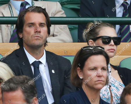 Tommy Haas and Sara Foster, Lindsay Davenport