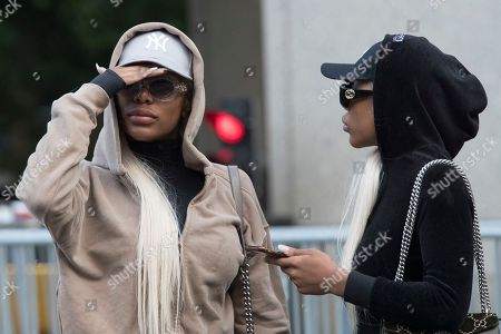 "Shannade Clermont, Shannon Clermont. Shannade Clermont, left, and her twin sister Shannon leave Federal court in New York after her arraignment, . Shannade Clermont, a former cast member of the television reality series ""Bad Girls Club,"" was arrested on charges alleging she stole debit card information from a man who died shortly after a date with her"