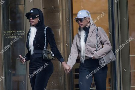 "Shannade Clermont, Shannon Clermont. Shannade Clermont, right, and her twin sister Shannon leave Federal court in New York after her arraignment, . Shannade Clermont, a former cast member of the television reality series ""Bad Girls Club,"" was arrested on charges alleging she stole debit card information from a man who died shortly after a date with her"