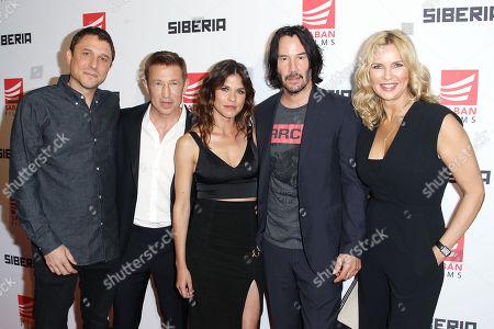 Matthew Ross (Director), Pasha Lychnikoff, Ana Ularu, Keanu Reeves, Veronica Ferres