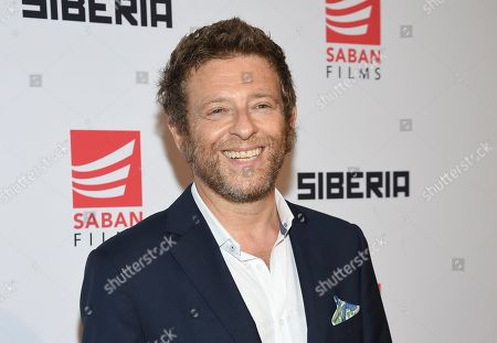 "Dmitry Chepovetsky attends the premiere of ""Siberia"" at Metrograph, in New York"