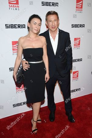 "Editorial photo of NY Premiere of ""Siberia"", New York, USA - 11 Jul 2018"