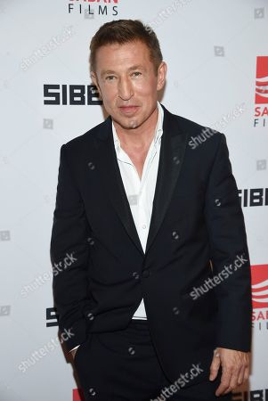 """Pasha D. Lychnikoff attends the premiere of """"Siberia"""" at Metrograph, in New York"""