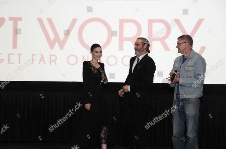 Rooney Mara, Joaquin Phoenix, Gus Van Sant