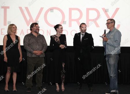 Kim Gordon, Jack Black, Rooney Mara, Joaquin Phoenix, Gus Van Sant